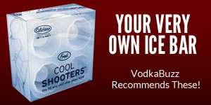 Fred Cool Shots.  Your Own Ice Bar!  VodkaBuzz recommends these!