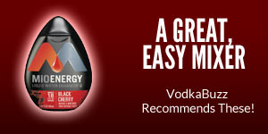 MiO Energy.  A great, easy mixer.  VodkaBuzz recommends these!
